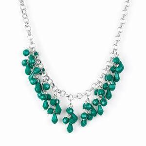 Modern Macarena - Green Necklace Set